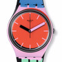 Reloj Swatch Gb 286 A Coté Silicona Colores Wr50mts