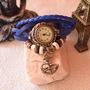 Relojes De Cuero Vintage C/ Dije Venta Mayorista!! Oferta!!!