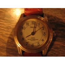 Reloj Pulsera Okusai - Para Mujer - Correa De Cuero