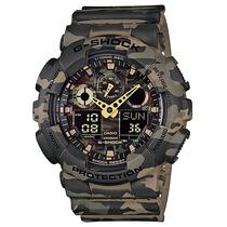 Reloj Casio G-shock Camuflado Ga-100cm-5a Camo 200m Militar