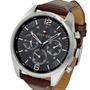 Reloj Tommy Hilfiger Th-1791184 Acero Malla Cuero 50m Wr