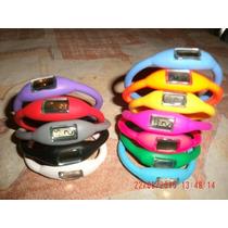 Relojes Pulsera De Silicona Varios Colores