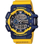 Reloj Casio G-shock 400-9b Amarillo Y Azul. Anti Golpes