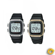 Reloj Casio W96h Digital 50m Cronometro Hora Doble 10 Años