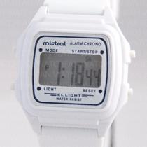 Reloj Mistral Led Cronometro Retro Vintage W Resistant