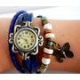 Reloj Vintage Cuero!! Por Mayor 10 Unidades !
