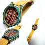 Reloj En Madera, Skate Reciclado!