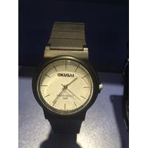 Relojes Okusai - Caballero - Caucho - Garantia - Nuevos