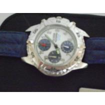 Reloj Guess - Cronografo -water Pro -estuche Y Manual Nuevo