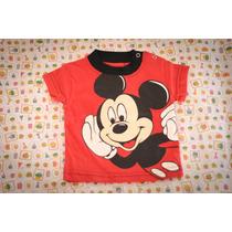 Remera De Bebé Con Personaje A Elección (kitty - Mickey)