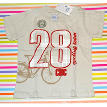 Remeras Chic Chac 2 Colores Ta 12 Y 18 Meses Little Treasure