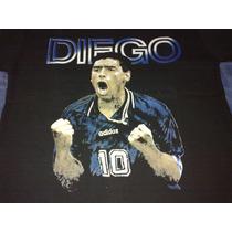 Remera Diego Armando Maradona Talle S Ultima!!!
