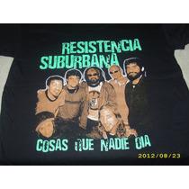Remera Resistencia Suburbana