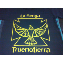 Remera La Renga Truenotierra