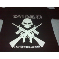 Remera Iron Maiden A Matter Of Life And Death