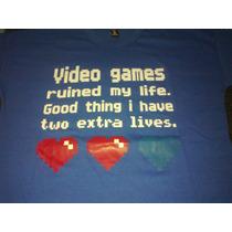 Remera Videos Games