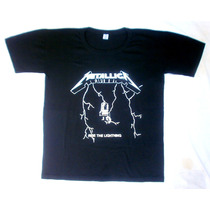 Remera De Metallica Ride The Lightning Talle S