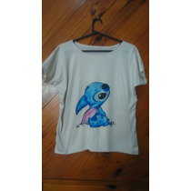 Remera Stitch Disney