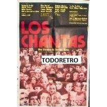 Afiche De Cine Los Chantas Año 1975