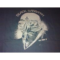 Remera Black Sabbath Us Tour 78