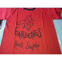 Remera Los Gardelitos Rock Sudaka Roja