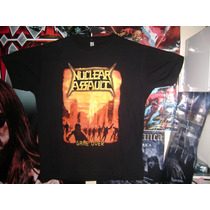 Remera - Nuclear Assault - Game Over