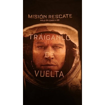 Remera Oficial Mision Rescate - The Martian