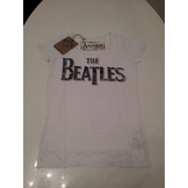 Remera Amplified The Beatles Mujer Vintage Retro Importada M
