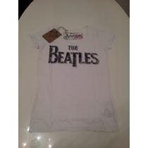 Remera Amplified The Beatles Mujer Vintage Retro Importada M