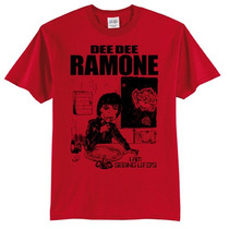 Dee Dee Ramone Remeras Ramones