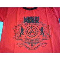 Remera Linkin Park Roja