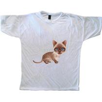 Remera Gatitos (mascota Raza Gato Felino Foto )