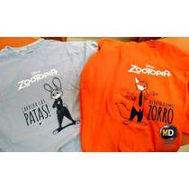 Remera Zootopia Disney