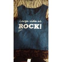 Remera Larga Vida Al Rock De Ciro. 130 Pesos!
