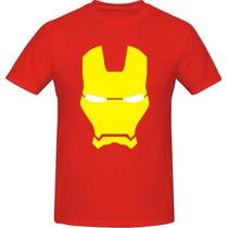 Remeras Estampadas Marvel Ironman Capitan America Ts A T4xl