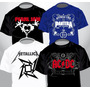 Remeras Rock Metal Hard Rock Talles Especiales 1000 Modelos