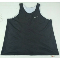 Musculosa Basquet Reversible Nike Negra Y Blanca Talle Xl