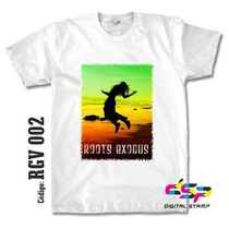 Remeras Reggae Rasta 02 Estampado Digital Stamp, Miralas!