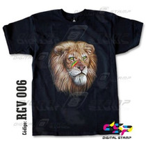 Remeras Reggae Lions 6 Estampado Digital Stamp, Miralas!