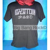 Remera Led Zeppelin Talle L - Large ( 52 Cm. X 70 Cm. )
