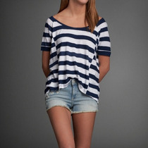 Abercrombie & Fitch Belle Tee/ Remera De Mujer