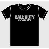 Remera Call Of Duty Black Ops Estampada Videojuego