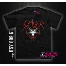 Remeras Slayer Heavy Metal 9 Digital Stamp Ineditas!