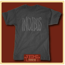 Exoma Remeras - Incubus (rock)
