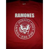 Remera Ramones Punk Rock - Exelente Calidad (aikon)