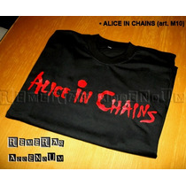 Remeras Música Alice In Chains Rock Metal My Dying Bride