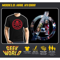 Remeras Superheroes! - Hail Hydra - Geekworld Rosario