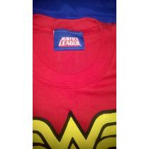 Remeras Justice League Dc Comics X2 Wonder Woman