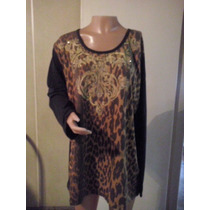 Remeras Animal Print Distintos Diseños T M A Xxxl $ 240
