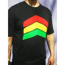 Remeras Reggae Jamaica Rasta Bob Marley Bordadas